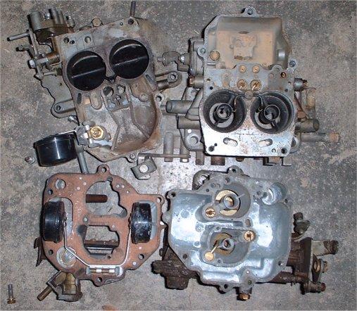 carburateur solex double corps 106